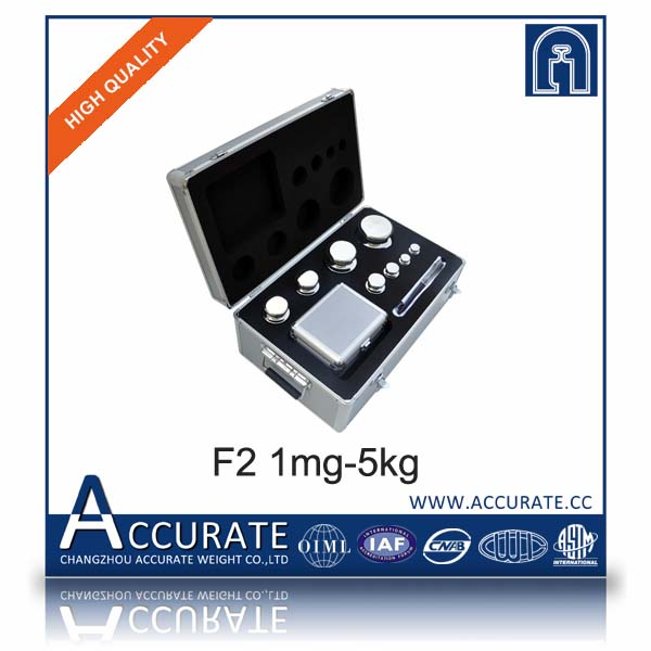 F2 1mg-5kg stainless steel calibration weights