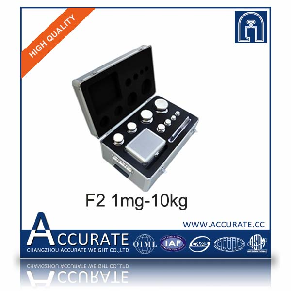 F2 1mg-10kg stainless steel calibration weights