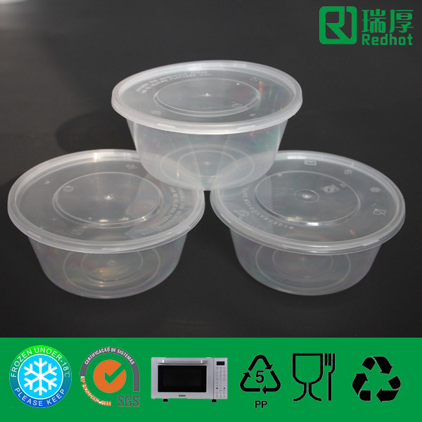 Supply Plastic Recycleable Food Container 750ml