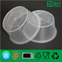 Round Takeaway Food Container 1250ml