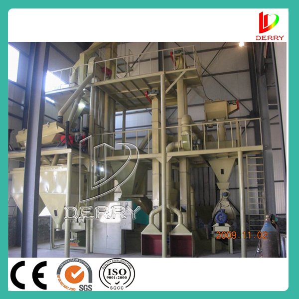 Poultry feed pelleting mill line