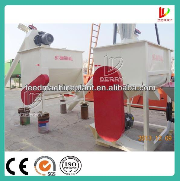 9HT2000/4000 Mini Horizontal Poultry feed processing machine
