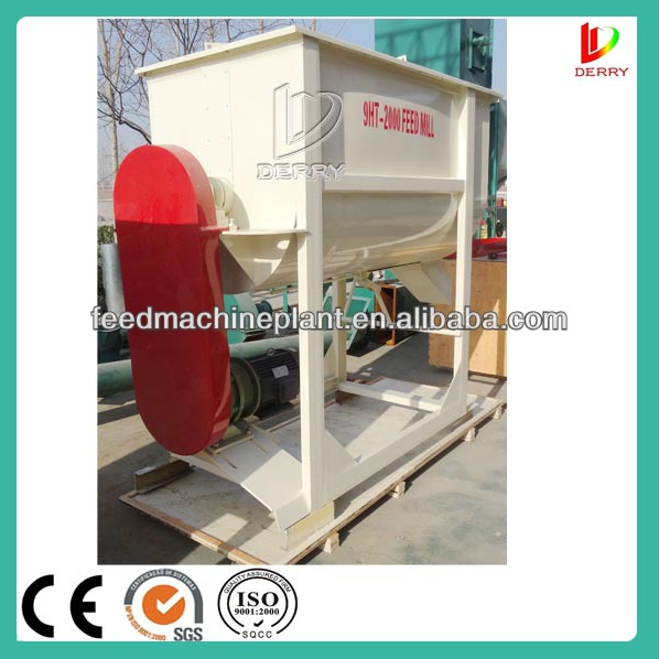 Energy Saving Powder Feed Mixer Crusher For Poultry/Livestock