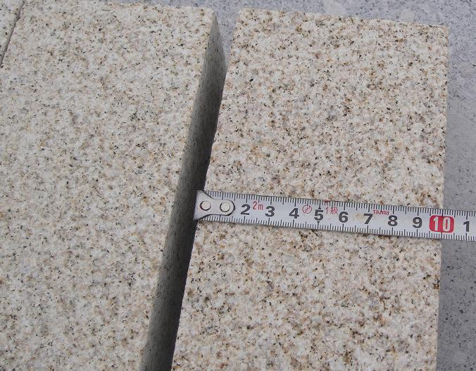 yellow granite pavings 20x10x5cm with competitive price