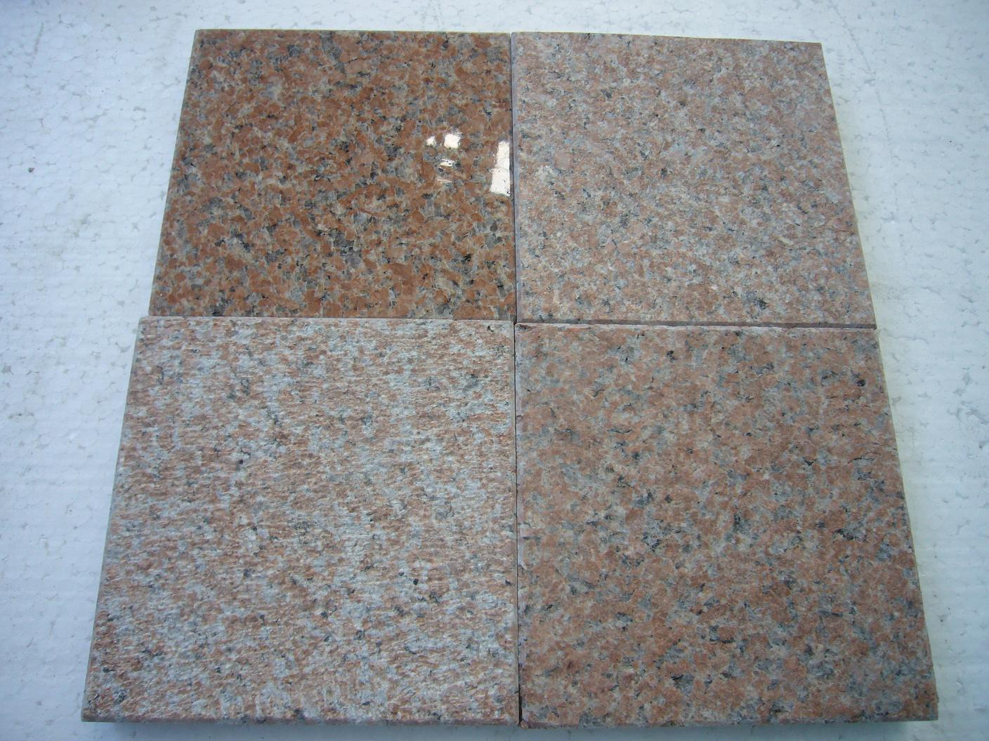 Red granite pavings 20x10x5cm with competitive price