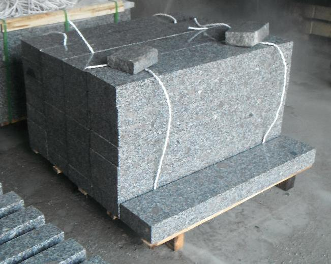 grey granite curbstones 80x200x1000mm with competitive price and strong packing