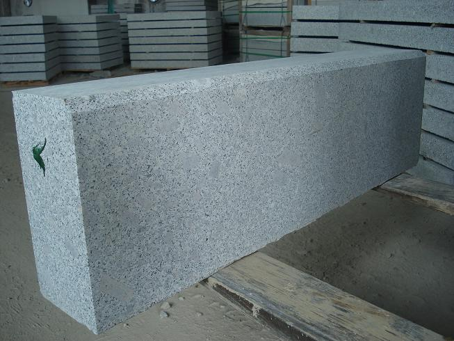 grey granite curbstones 150x300x1000mm with competitive price and strong packing