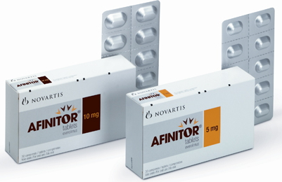 Afinitor 10 mg Tablets