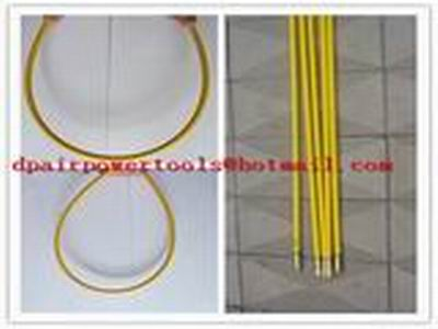 frp duct rodder,FISH TAPE,CONDUIT SNAKES,Tracing Duct Rods