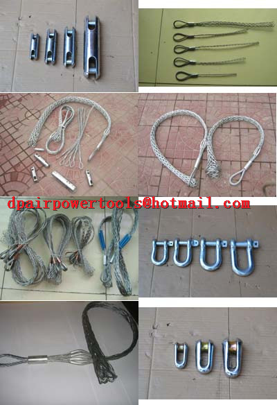 Stainless steel cable snakes,Single head-single strand Pulling grip