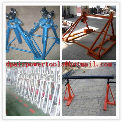 Made Of Cast Iron,Grouvnd-Cable Laying,Cable drum trestles,Cable Drum Jacks