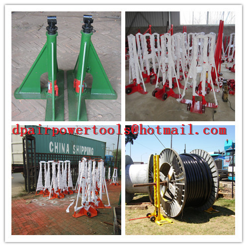 Best quality Hydraulic cable drum jack,Hydraulic lifting jacks for cable drums