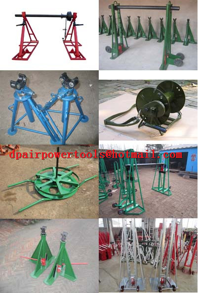Cable Handling Equipment,hydraulic cable jack set,Jack towers,Cable Drum Jacks