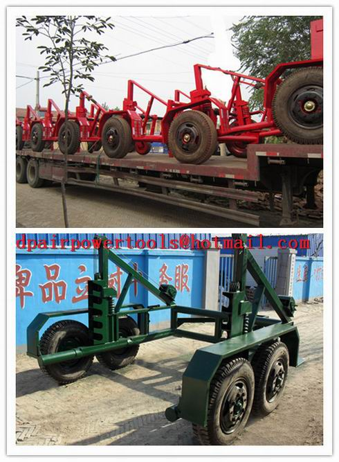 China Drum Trailer,best quality Cable Drum Trailer, Best quality cable trailer