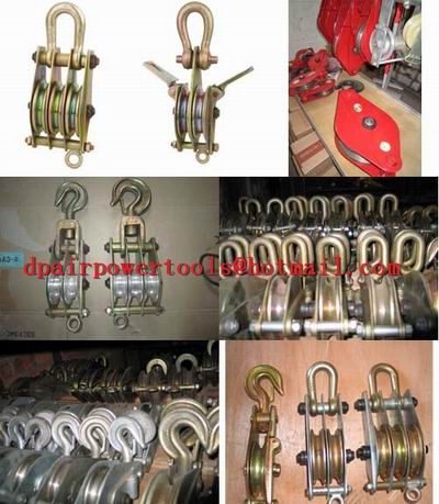 Cable Block,Cable Puller ,Hook Sheave Pulley, Current Tools,Cable Block Sheave