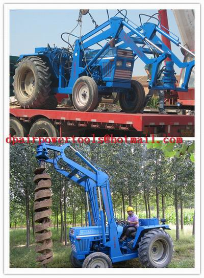 material Earth Drill/Deep drill, factory Earth Excavator/pile driver