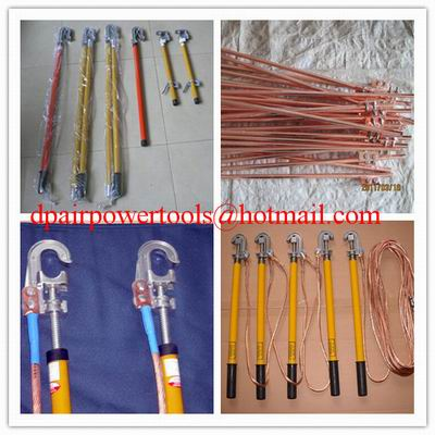 Ground rod&short-circuit test tools,High Voltage Portable Grounding Rod