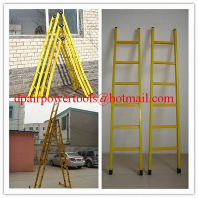 Straight fiberglass ladder Collapsible ladder Fiberglass Insulation