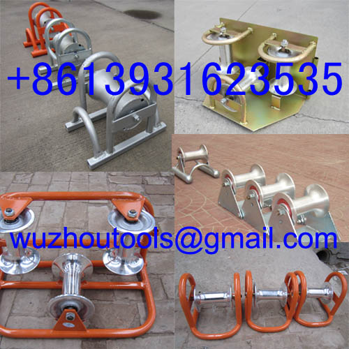 Straight Cable Roller Manhole Quadrant Roller
