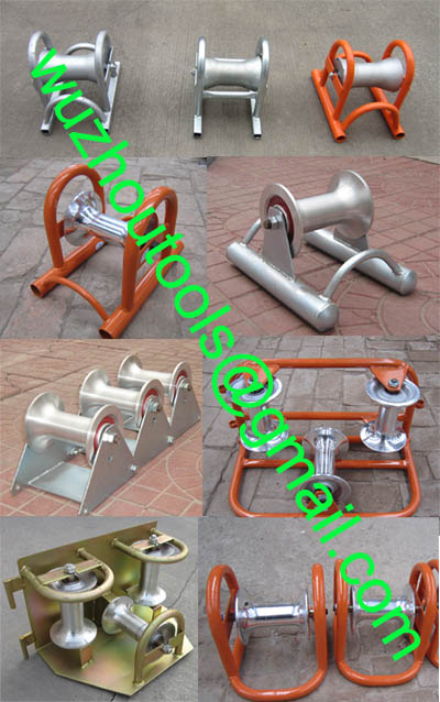 Split Duct Roller Guide (Outlet),Conduit Slipper Guide (Inlet)