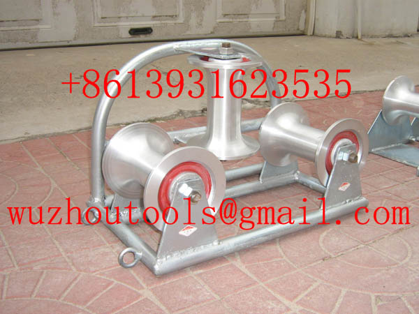 Heavy Duty Triple Corner Cable Roller,Aluminum Cable Roller