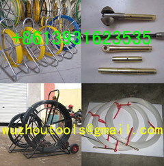 Yellow Duct Snake,Non-Conductive Duct Rodders,Fibersnake