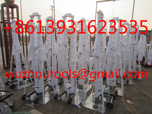 CABLE DRUM JACKS,Cable Drum Lifter Stands,,Jack towers,Cable Drum Lifting Jacks
