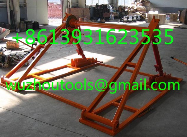 Hydraulic cable drum jack,Hydraulic lifting jacks for cable drums
