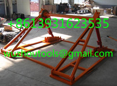 Hydraulic Cable Jack Set,Cable Drum Screw Jack,Cable Drum Handling