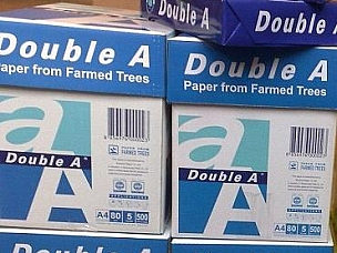 a4 80 Double A Copier Paper $0.30 usd per ream
