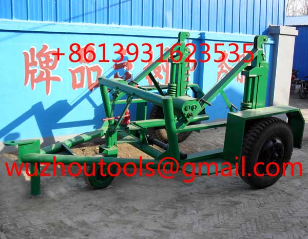 Cable Reel Puller, Cable Reel Trailer,Reel Cable Trailer