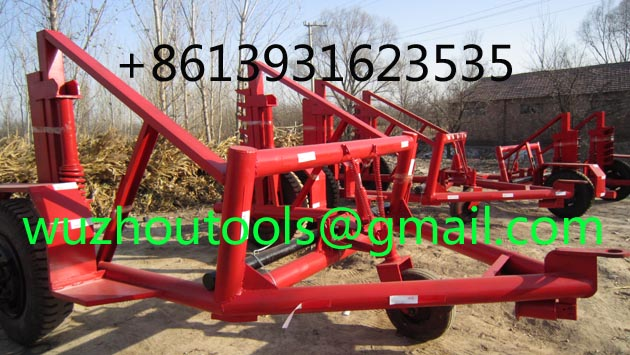Pulley Carrier Trailer, Pulley Trailer, Cable Trailer