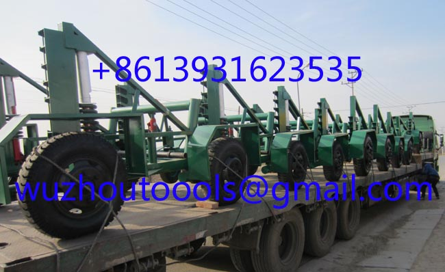 cable trailer,cable drum table,Cable Conductor Drum Carrier