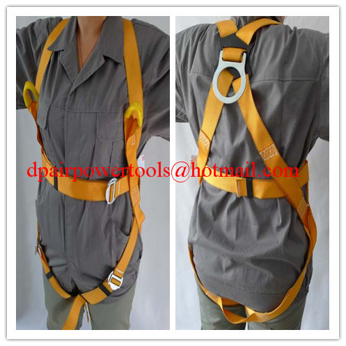 Industrial safety belt& Fall protection,Style Belt & Harness Set