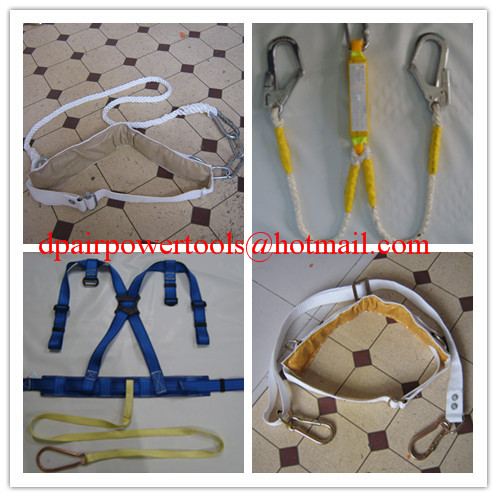 safety harness &safety belt &safety webbing