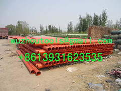 PVC-U and PVC-C casing pipe to protect the power cable