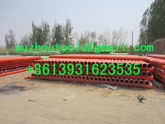 PVC double wall corrugated pipe  Power cable protecting tube