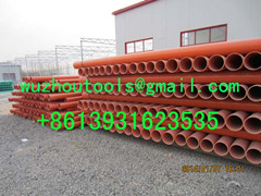 PVC-C power cable protection pipe  Power cable protecting tube