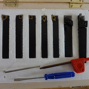 08mm ISO indexable lathe tool holder