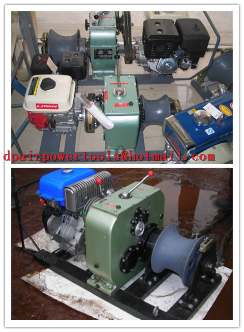 China Powered Winches, best factory Cable Winch,ENGINE WINCH