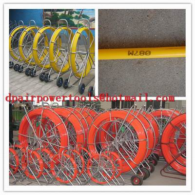 video duct rodder,new type frp duct rod,shake frame fiberglass duct rodder