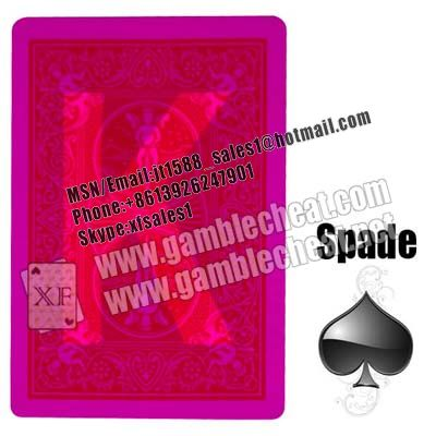 Bicycle marked cards for poker cheat| poker glasses| contact lenses