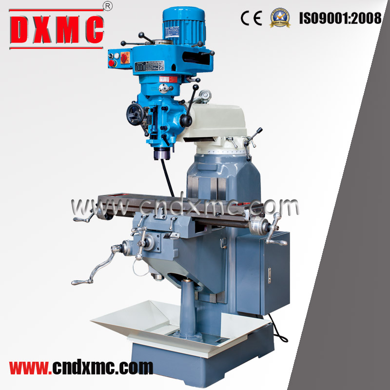 small vertical turret milling machine
