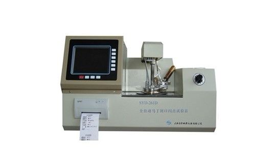 GD-261D Fully-automatic Pensky-Martens Closed Cup Flash Point Tester