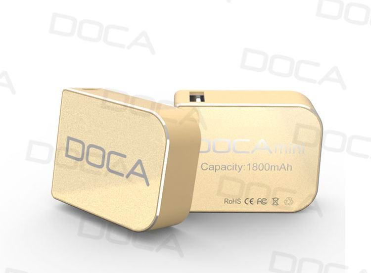 Gift DOCA new design D108 1800mah Emergency charger