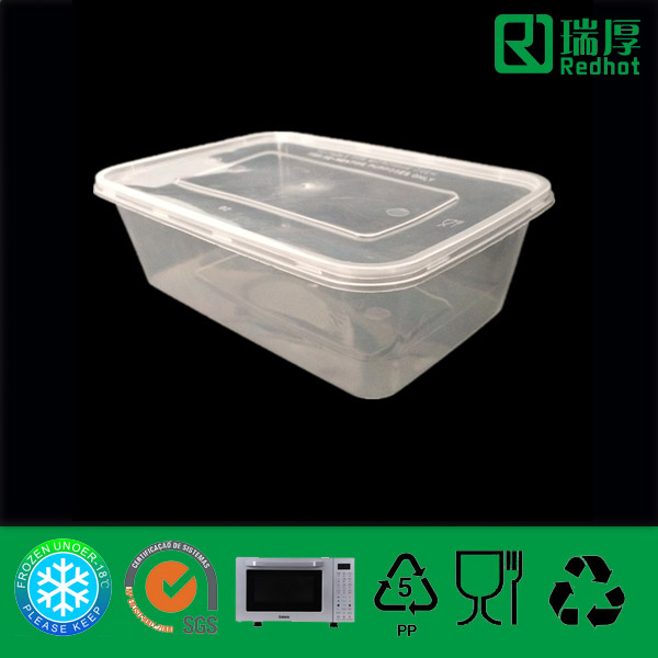 PP Disposable Food Container (750ml)