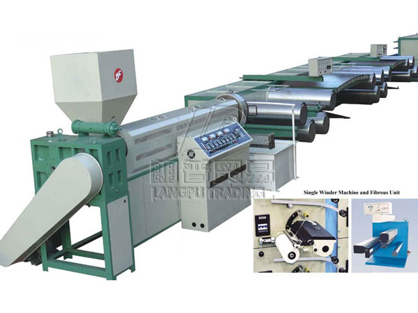 Waste Plastic Wire Drawing Machine