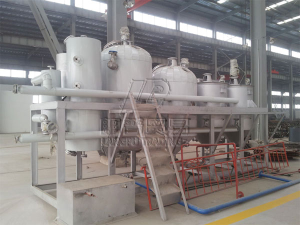 Cooking Oil Refining Machines