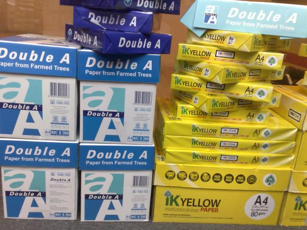 Double A A4 copy Paper 70g 75g 80g Best Quality