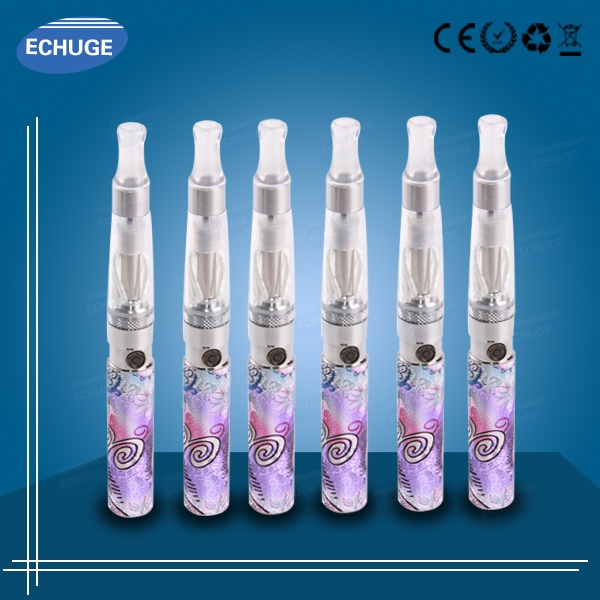 e cig vaping wholesale USB passthrough LCD battery ce5 atomizer